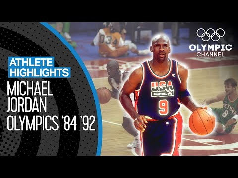 Best of Michael Jordan 🇺🇸 at the Olympics | Athlete Highlights