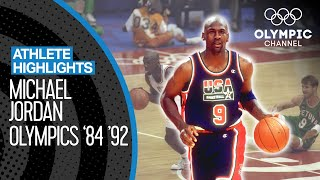 Best of Michael Jordan 🇺🇸 at the Olympics | Athlete Highlights