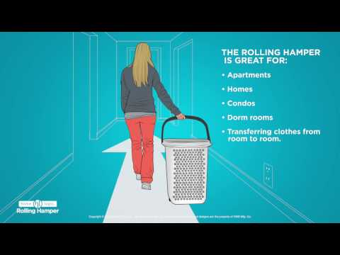 Home Logic Rolling Hamper
