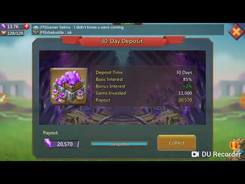 Lord's Mobile Treasure Trove Payout ! Lord's Mobile Free Gems !  Lord's Mobile Treasure Trove