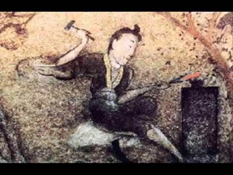 SWORD HISTORY (Mural of Sword forging) Part 1-video #268