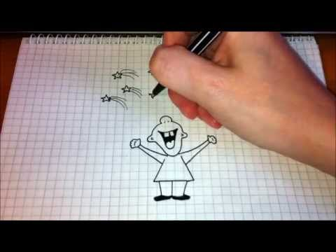 Простые рисунки #97 УРА !!! Салют =)