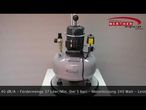 Sil-Air 50-24 Flüsterkompressor (silent compressor)