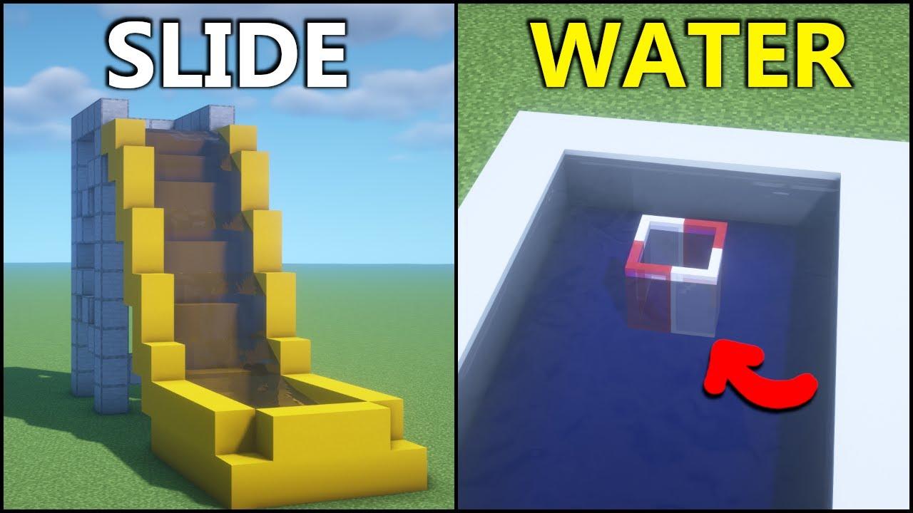 Download Minecraft: 15+ Water Park Build Hacks!