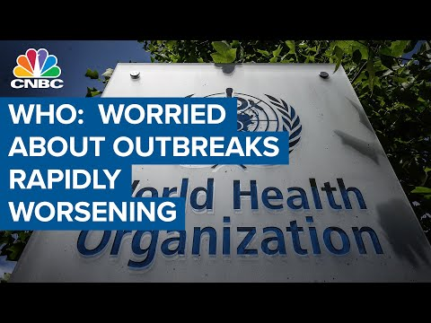 WHO: We're worried about fast spreading coronavirus outbreaks in the Americas