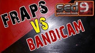 Как сделать Let's Play / Обзор #1: Fraps VS Bandicam (ПТУ им Sed9)