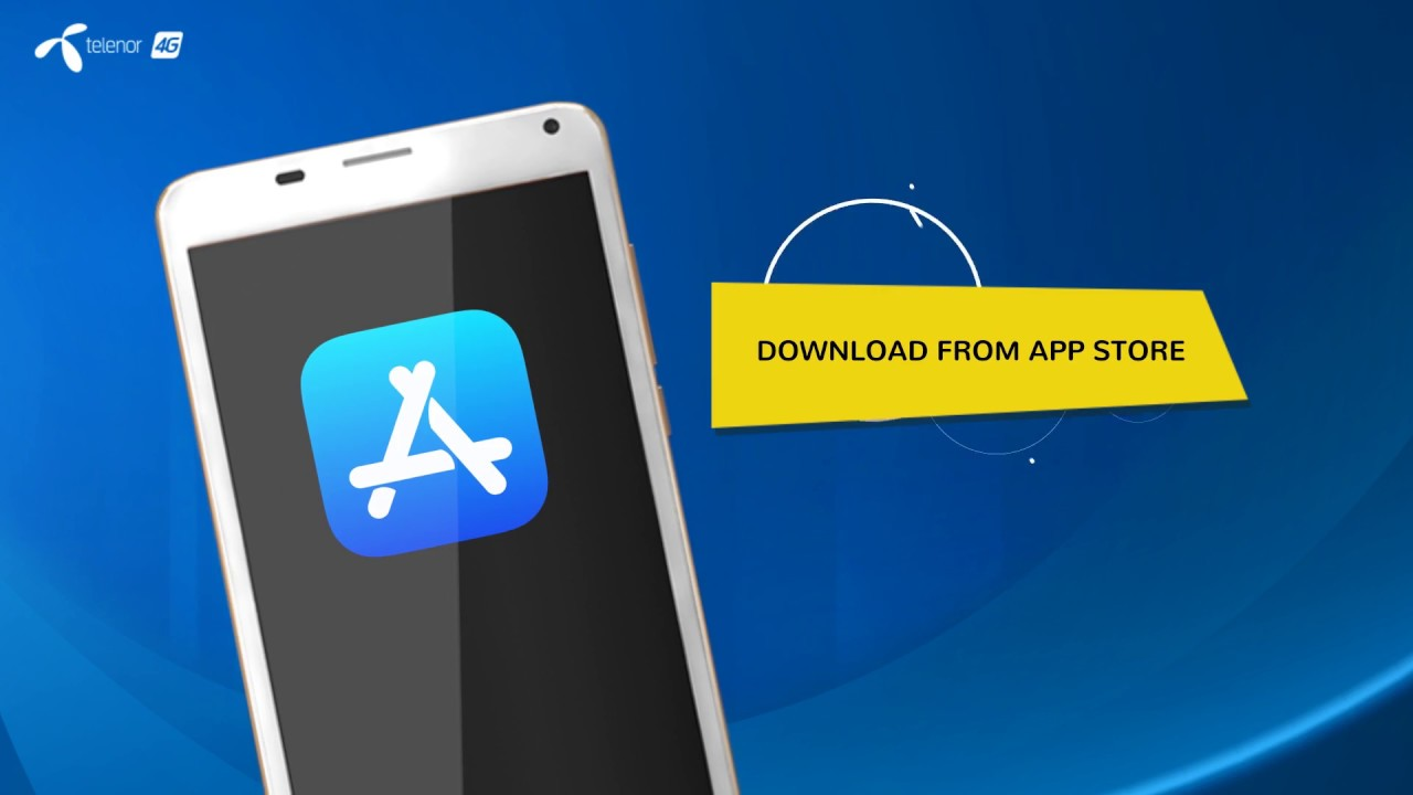 How to sign up for My Telenor App