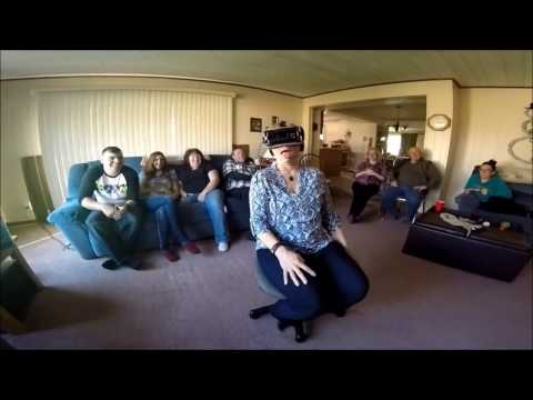 FUNNIEST 'Face Your Fears VR'  Gear VR compilation of my family's screams & yells