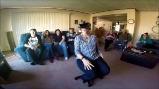 """FUNNIEST """"Face Your Fears VR""""  Gear VR compilation of my family"""