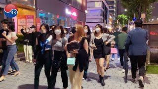 [4K]Seoul Walk-Gangnam Hot Fri…