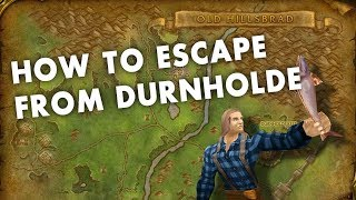How to Escape from Durnholde in less than a Minute!