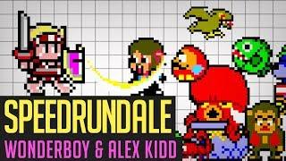 Wonderboy in Monsterland & Alex Kidd in Shinobi World (Any%) Speedrun von Berlindude1 | Speedrundale