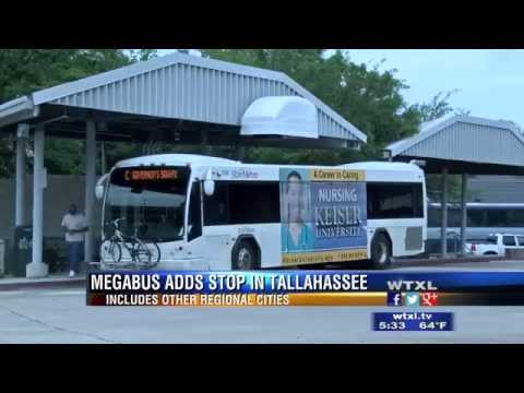 Megabus plans a new destination to Tallahassee