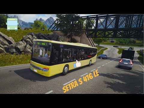 Bus Simulator 18 - Setra  S 416 LE - National Holiday - Timelapse - Gameplay (PC HD) [1080p60FPS] |