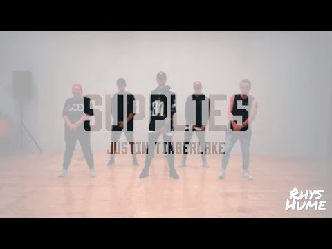 Justin Timberlake - SUPPLIES    Rhys Hume Choreography    Lucid Moves