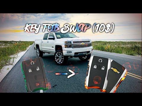 2014 2018 Chevy Silverado Key Fob Swap Under 10 Youtube