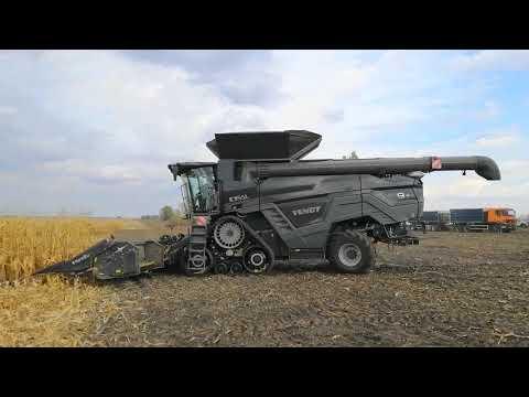 Fendt Ideal на уборке кукурузы на Полтавщине: тест-драйв