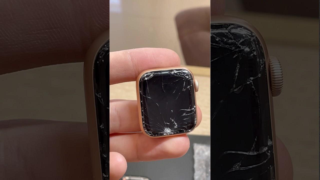 Замена стекла Apple Watch 4/40mm в Тюмени