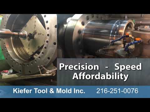 Tour A Large Capacity Machine Shop With CNC Equipment In The USA