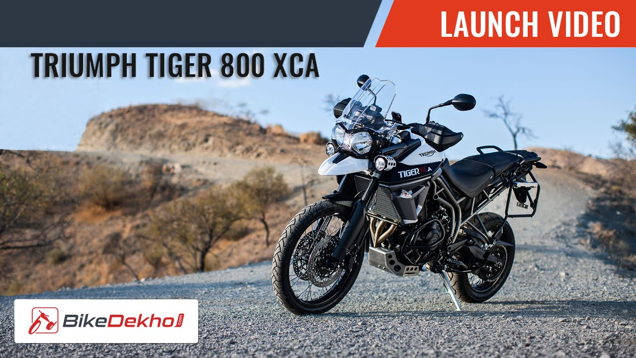 2015 Triumph Tiger 800 Xca Launch Story Bikedekhocom Youtube