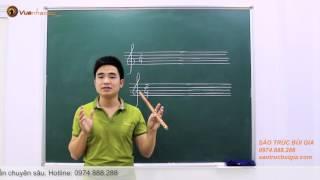 Học thổi sáo - Bùi Công Thơm hướng dẫn dễ hiểu (Bài 3)