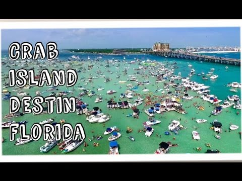 BEST PLACE ON EARTH - SPENT A DAY ON CRAB ISLAND IN DESTIN FLORIDA