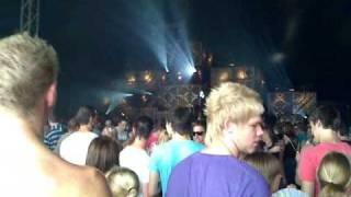Dj Greg C live @ Summerfestival 27-06-09 tekstyle