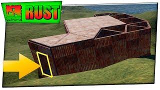 Rust куча лута за одной дверью ! Раст выживание в соло на модифицированном сервере #25