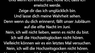 Wedding Bells - Jonas Brothers (Deutsche Übersetzung)