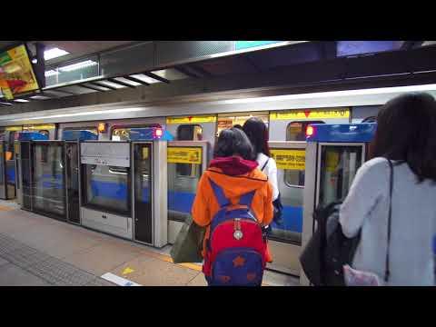 Taiwan, Taipei, MRT ride from Main Station to Shandao Temple, 1X elevator, 4X escalator