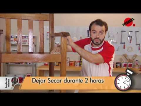 Mantenimiento de los muebles de exterior - YouTube