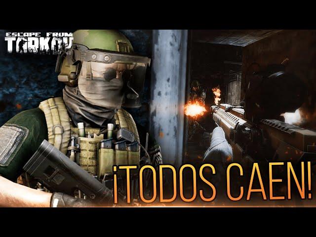 ¡TODOS CAEN CONTRA NOSOTROS! | Escape From Tarkov