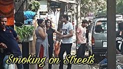 #Smoking #On #Streets  Smoking On Street's    Public Places    Versova, Mumbai