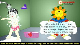 Nursery Rhymes After a Bath Songs with lyrics