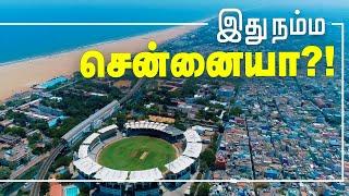 BEAUTIFUL Chennai Birds Eye View Lockdown Days   Must Watch #Chennaidroneview #Lockdown