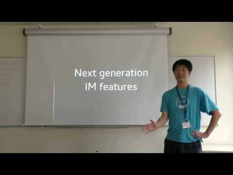 Next Generation Input Methods