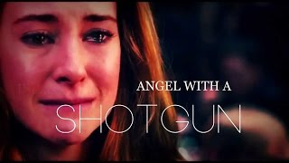 Video ● tris & tobias || angel with a shotgun download MP3, 3GP, MP4, WEBM, AVI, FLV Maret 2018