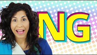 Why there is no G in 'NG'  | American English