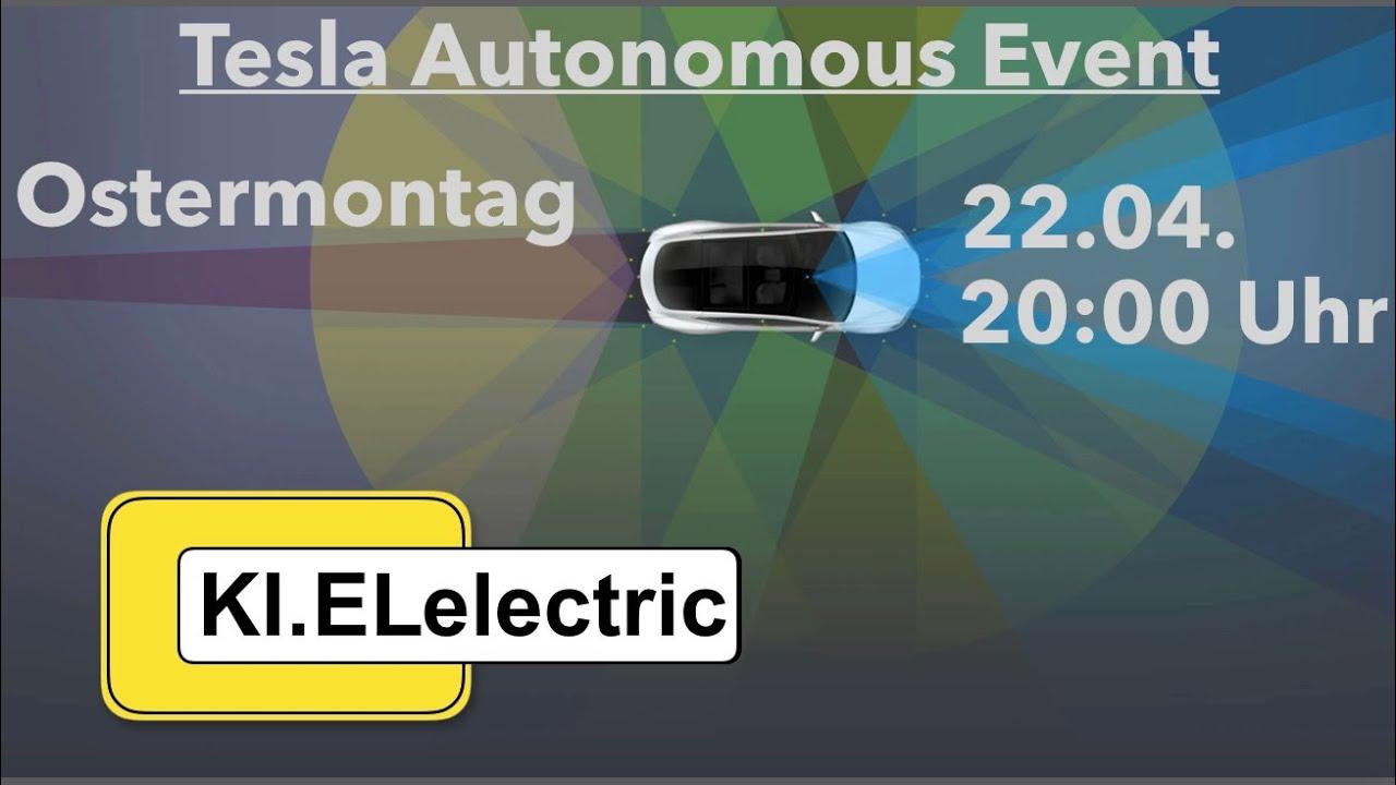 Tesla Autonomy Day Vorschau Preview Elon Musk Interview: Autonomes Fahren  Neue Autopilot Hardware KI