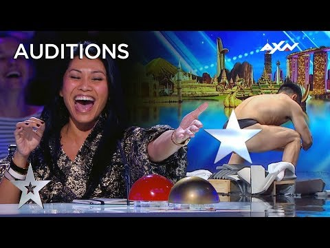 These Superheroes From Japan Are Here To Save The World! | Asia's Got Talent 2019 on AXN Asia