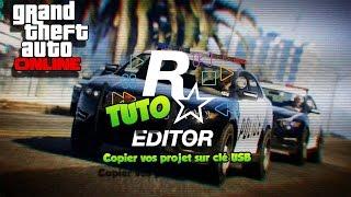 [TUTO] copier vos projets rockstar editeur sur clé USB avec share PS4 GTA 5