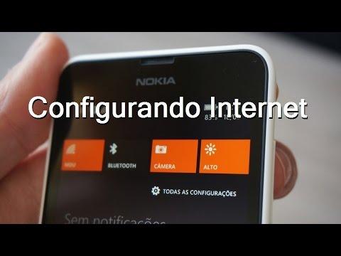 Configurando Internet no Windows Phone Dual Sim