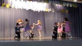 5.klasside tantsijad (kevadkontserdil)