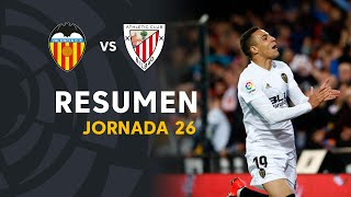 Resumen de Valencia CF vs Athletic Club (2-0)