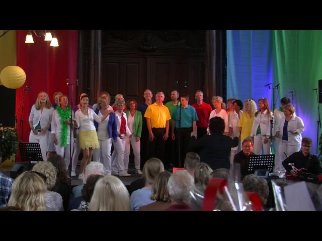Popkoor Yes, Lustrum Concert, 13 mei 2017 concert 1, set 1 deel 4
