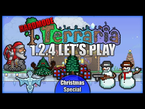 The Christmas Special! Santa's Isle! || Let's Play Terraria