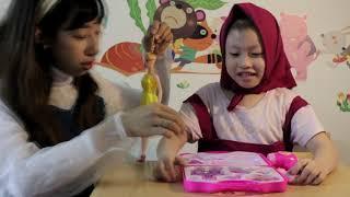 Trang điểm cho bé Bống - Chị Nhi Nhím💗Đồ chơi trẻ em