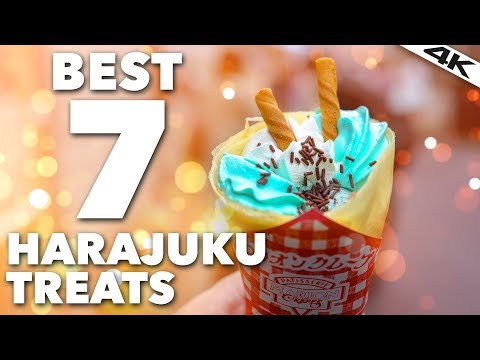 HARAJUKU'S BEST TREATS in Takeshita Street | Harajuku, Tokyo [4K]