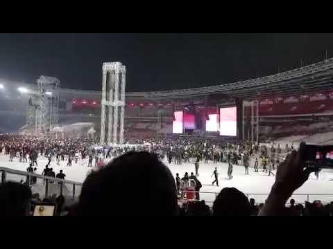 Indonesia Raya Di Konser Guns N' Roses