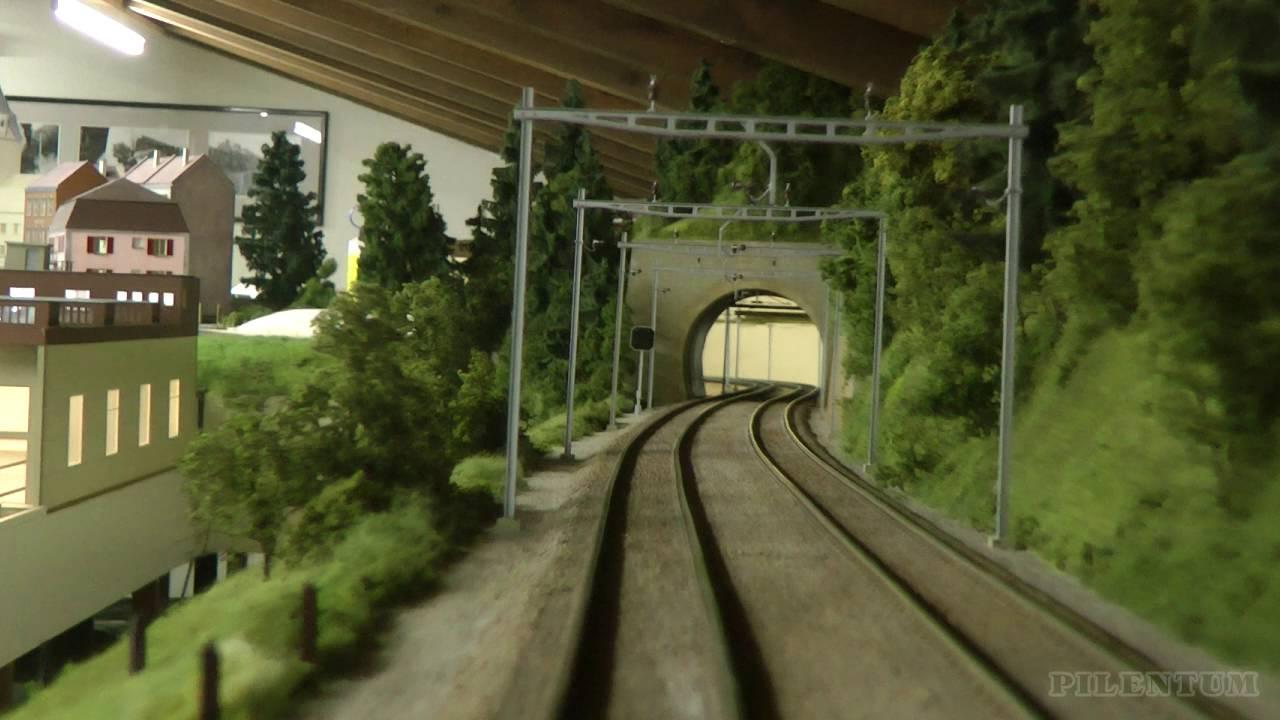 Impressive cab ride through beautiful model railway in O scale